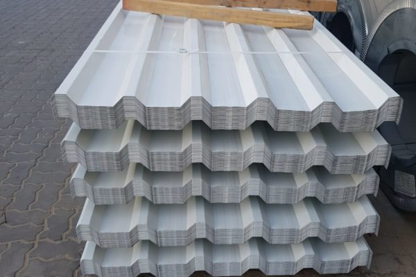 Trapozodial sheet, Roofing sheet, Corrugated sheet