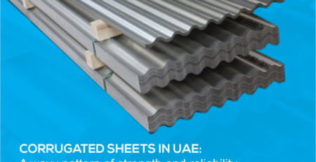 corrugated sheets in UAE